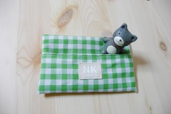 ミシン縫いのみで完成!簡単♪裏地付ポケットティッシュケースの作り方